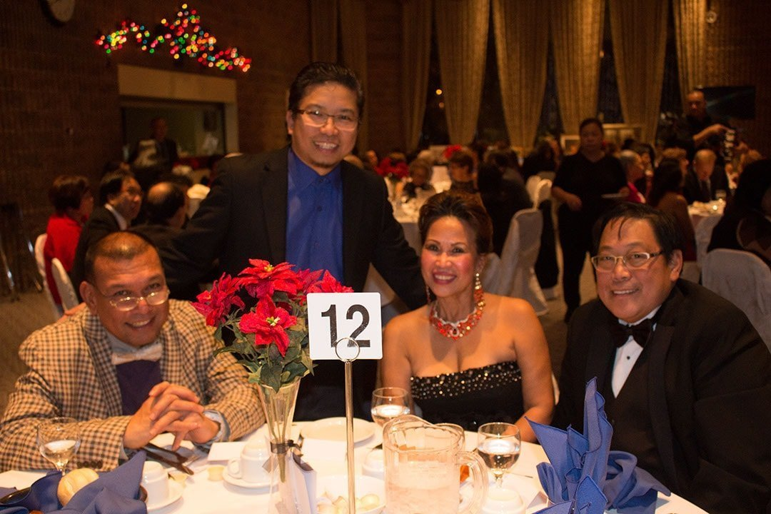 Omel, Jhun, Dr. Christina L. Gamo, and Dr Gamo (My dentists when i was in San Pablo City)