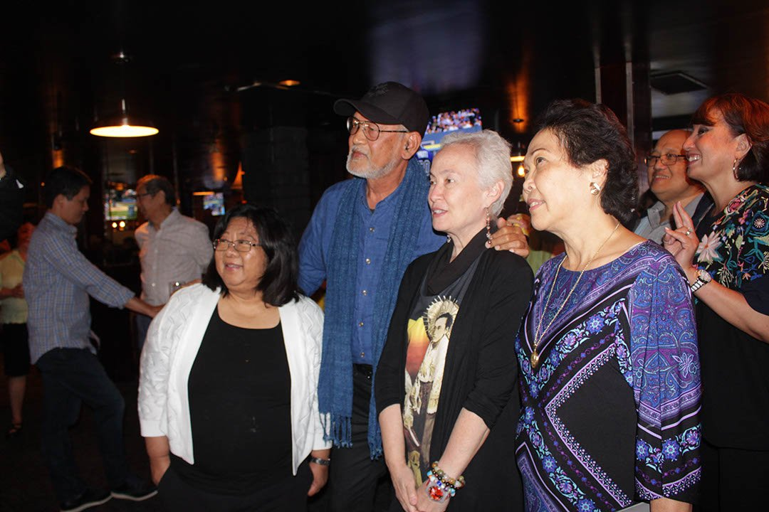 An evening with BenCab in Toronto with ConGen Rose Prospero, Amba Petronila P. Garcia and friends.