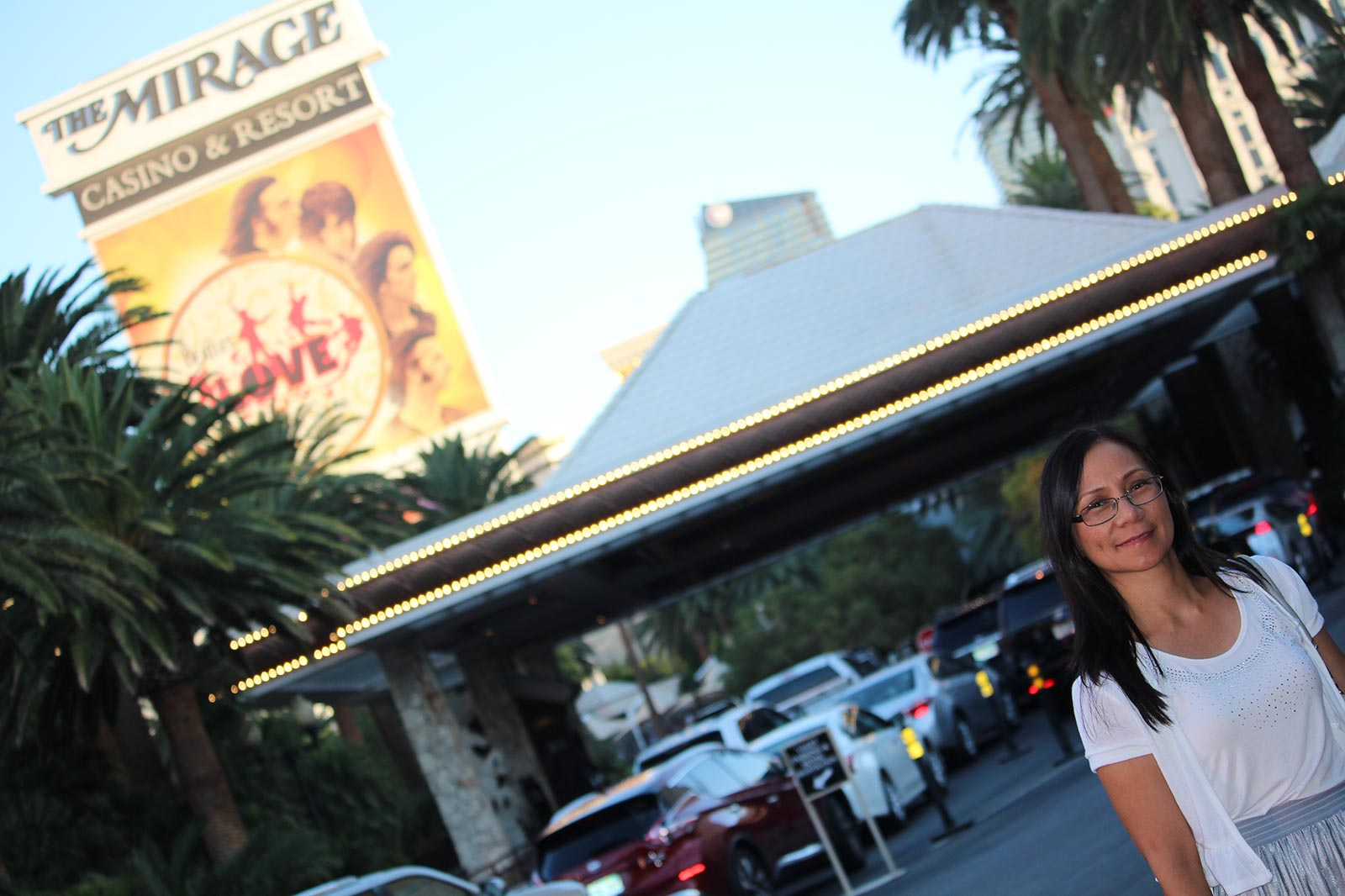 Judy goes to The Mirage Las Vegas