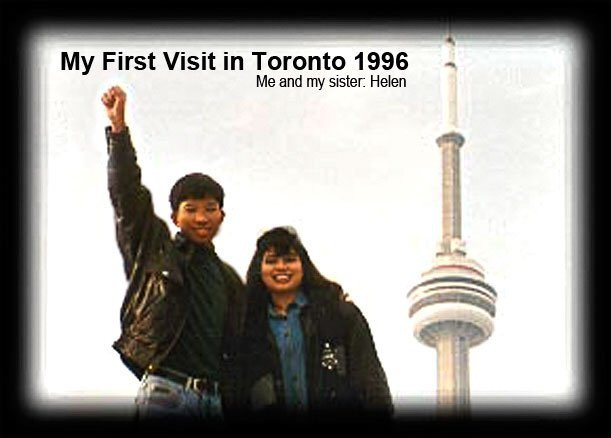 My first visit in Toronto 1996