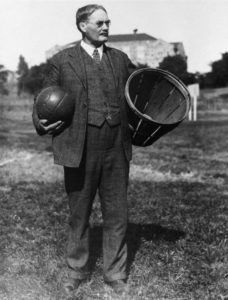 James Naismith invented basketball in 1891