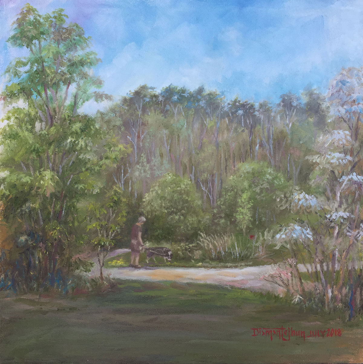 NPCC – on-the-spot painting at the park