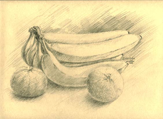 Banana and Clementines