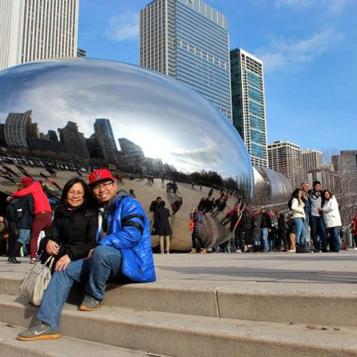 Jhun and Judy in Chicago