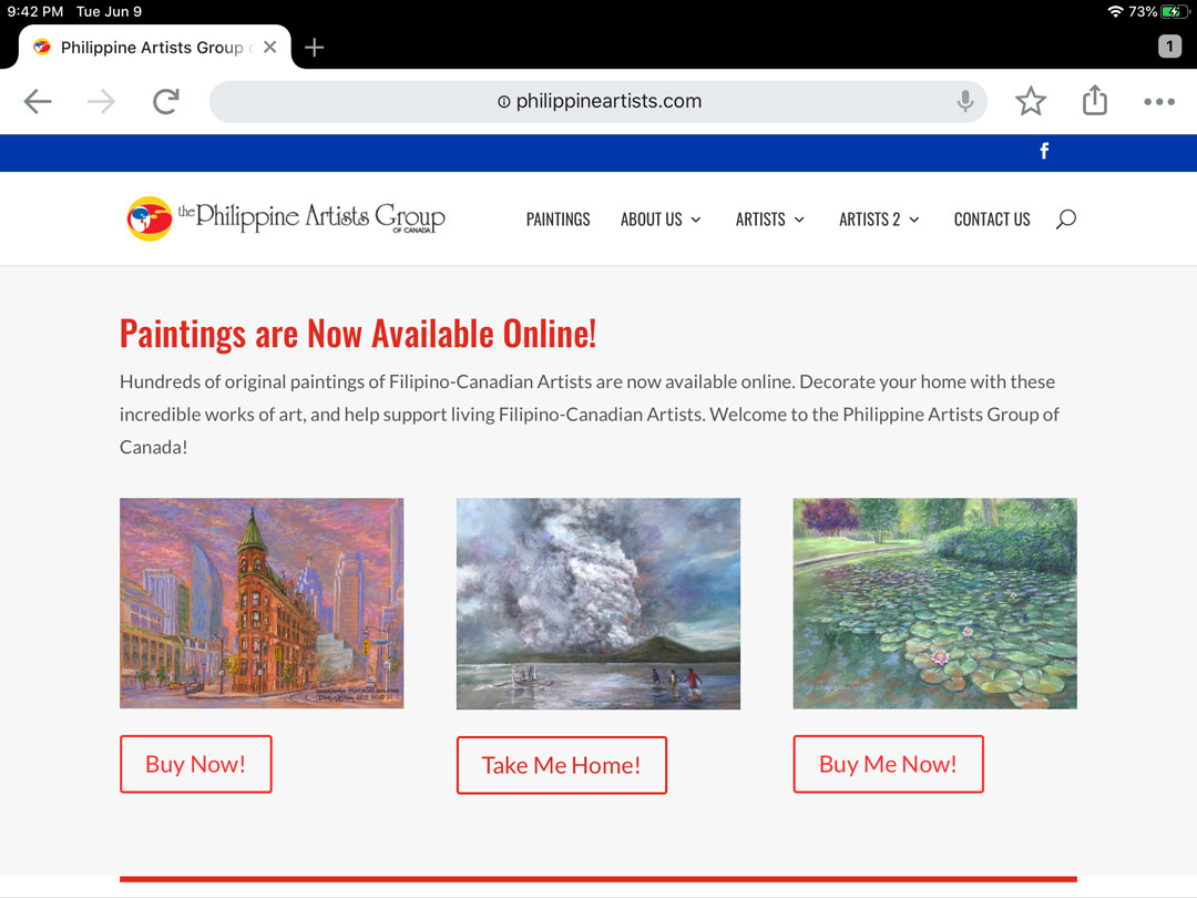 Philippine Artists Group of Canada