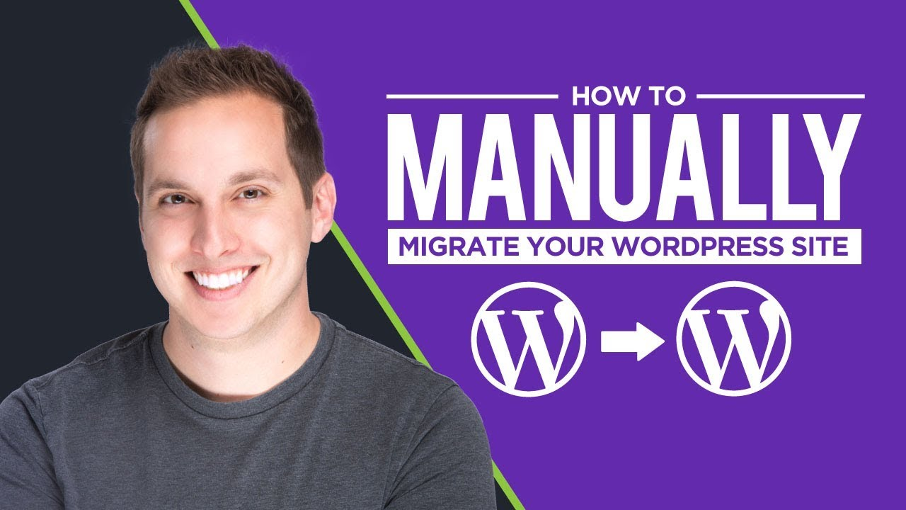 How to change migrate website from another hosting