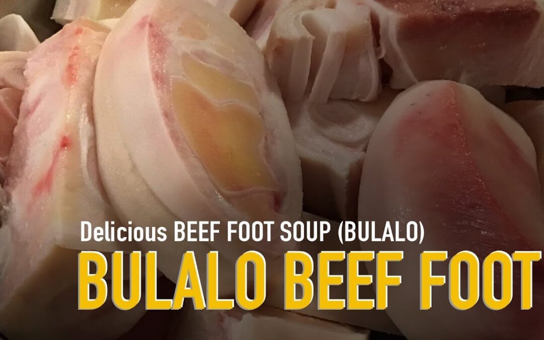 Delicious Bulalo (Beef Foot) Very EASY to cook!